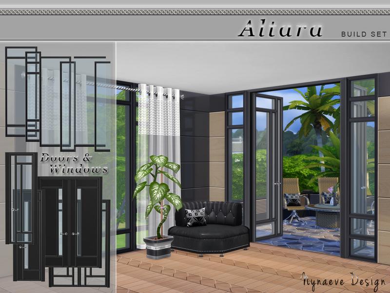 Nynaevedesign 39 s altara build set for Sims 4 balcony