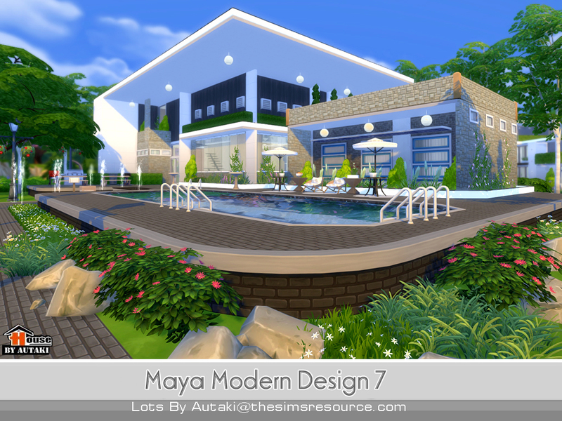 Autaki'S Maya Modern Design 7
