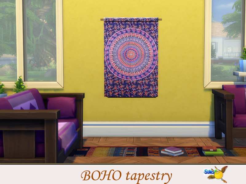 evi Boho Tapestry set