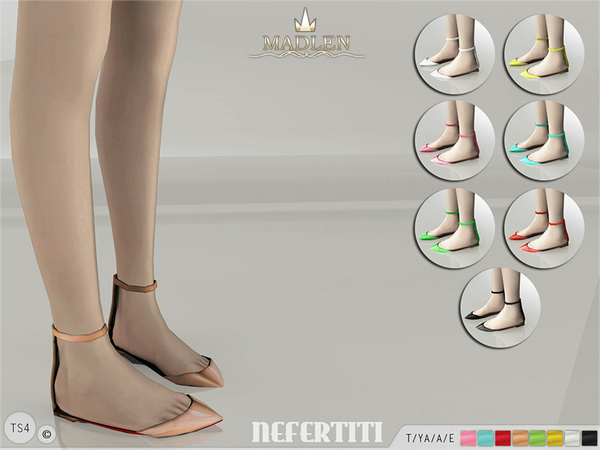 Sims  Female Flat Shoes
