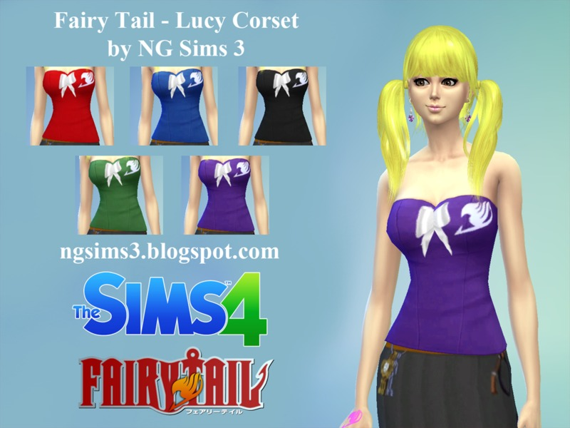 sims 4 downloads - 'anime'