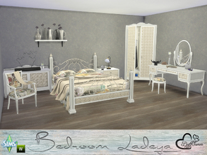 Sims 4 — Ladeya Bedroom by BuffSumm — A perfect place for your Sim for having wonderfull dreams! A combination of wood