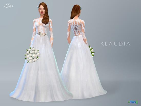 SLYD\'s Lace Wedding Dress KLAUDIA