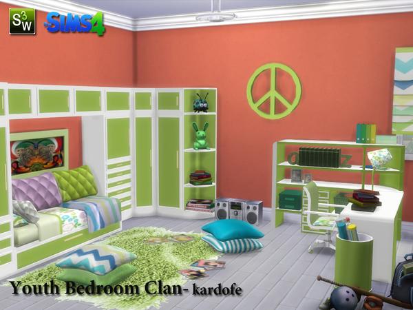 Kardofe Youth Bedroom Clan
