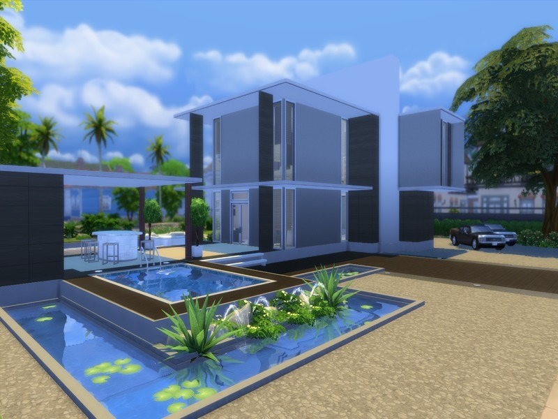 Suzz86 39 s modern newcrest - The sims 3 case moderne ...