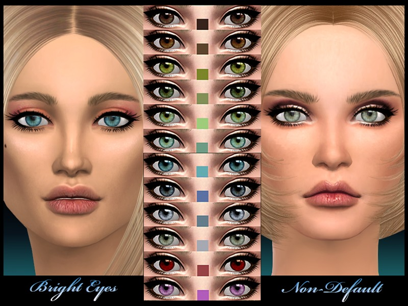 joannebernice's Non Default - Bright Eyes The Sims Resource