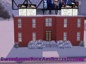 Sims 3 — Sammy's Sock Hop by SweetLittleRockAndRollerDesigns — Hey you hep cats, hipsters, and daddy-os! Take your