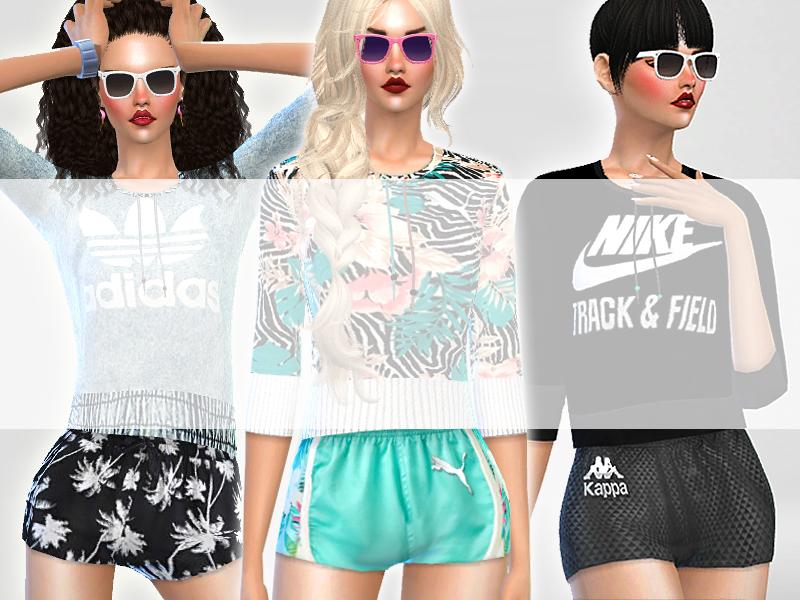 Pinkzombiecupcakes' Summer Ibiza Sport Shorts