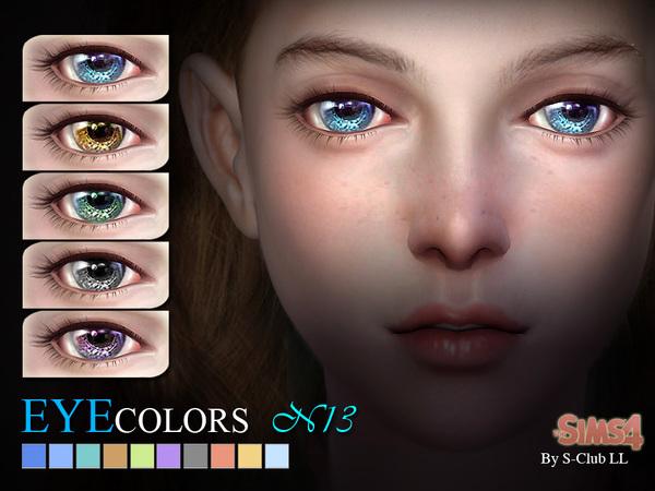 глаза для симс 4 от S-Club