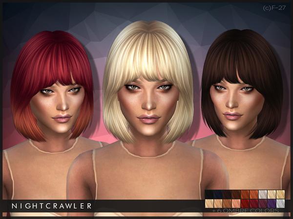 Mods, CC The Sims4: FEMALE HAIR / WŁOSY ŻEŃSKIE