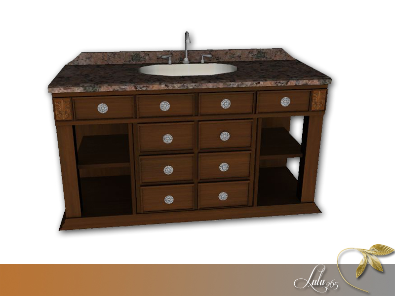 Lulu265s DeLux Bathroom  The Sims Resource