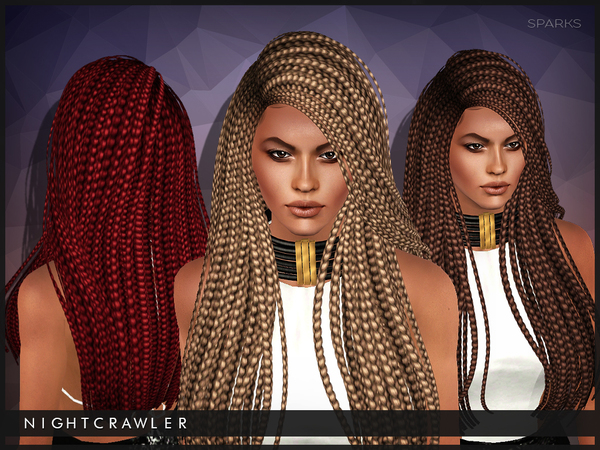 Hairstyles Braids Download: Nightcrawler Sims' Nightcrawler-Sparks