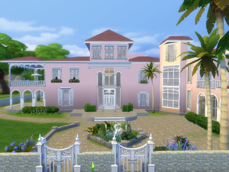 1300915 on Sims 3 Modern Mansion Floor Plans