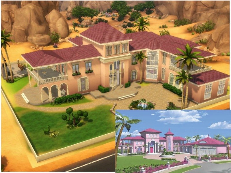 barbie dream house sims 4 download