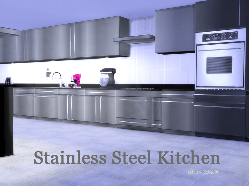 Shinokcr S Stainless Steel Kitchen