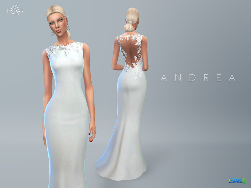 Sims 4 Clothing sets - \'wedding dress\'