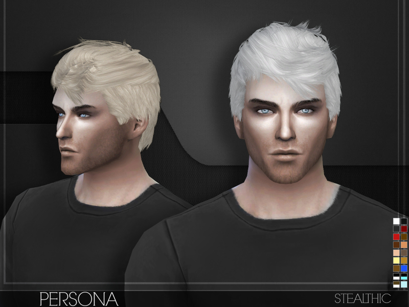 Stealthic Persona Male Hair