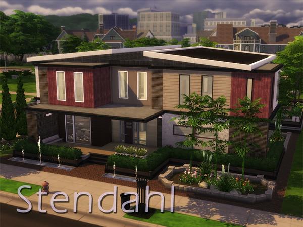 keterangan: furnitur rumah lengkap 2 lantai dengan 3 kamar tidur dan 3 kamar mandi seharga $224.274 dan berukuran 40x30 & Rekomendasi Lot Residensial #1   SharingSims4Indo