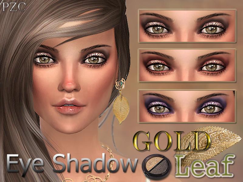 Pinkzombiecupcakes Gold Leaf Eye Shadow