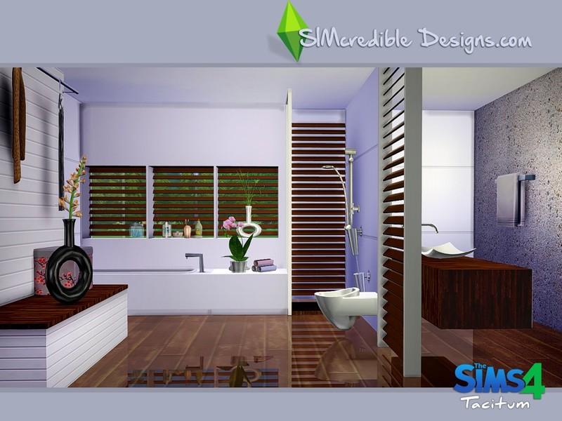 Simcredible 39 s tacitum for Bathroom ideas sims 4