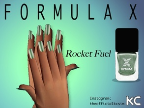 Sims 2 — Light Green Metallic Nail Polish by KCsim — Remember to adjust your settings HIGH in the game for best results.