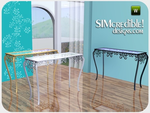 SIMcredible!'s We love peacock tall table sideboard