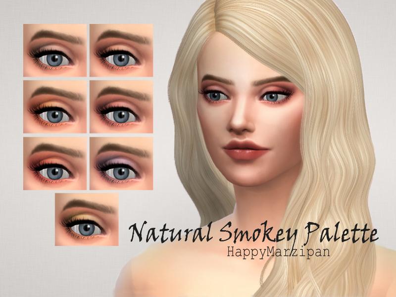 Natural But Smokey Eye Makeup