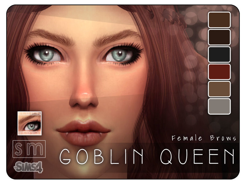 Screaming Mustard's [ Goblin Queen ] - Realistic Brows