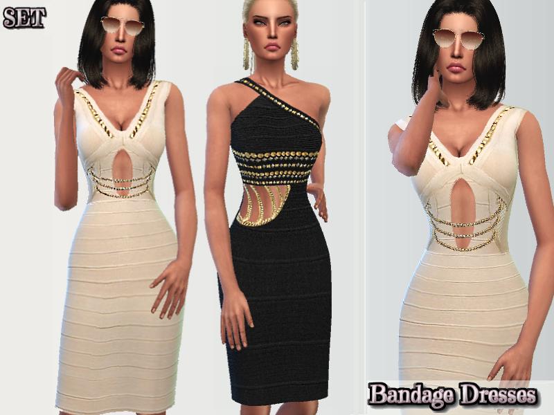 Puresim's Classy Bandage Dresses