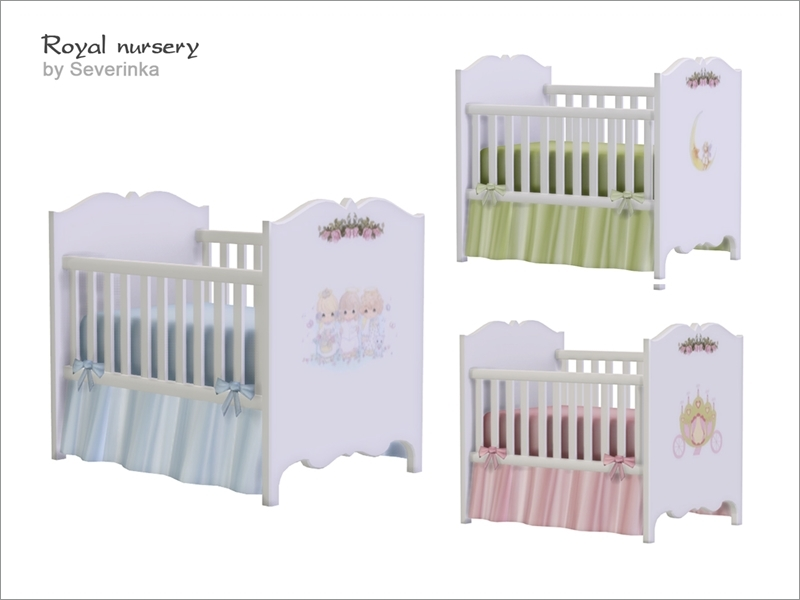 Severinka 39 s royal nursery crib deco - Deco babybed ...