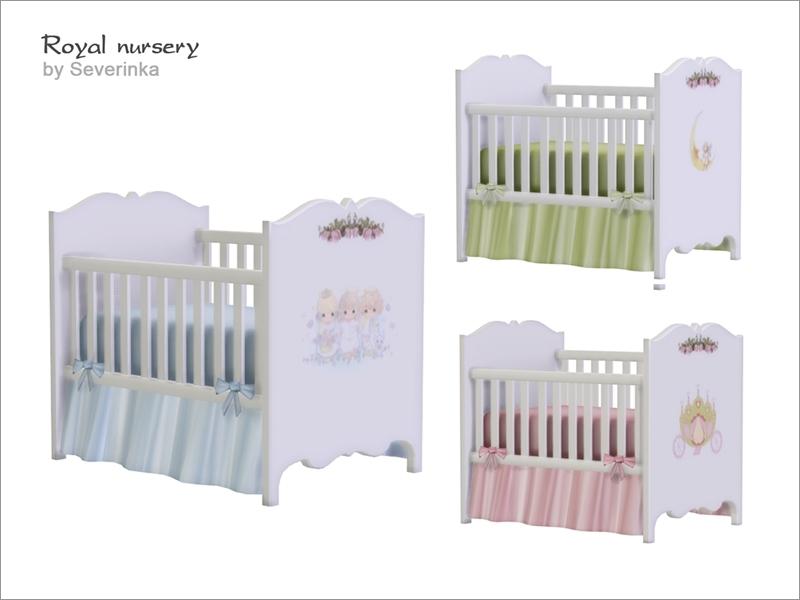 Severinka S Royal Nursery Crib Deco