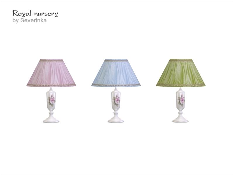 Royal Nursery Table Lamp