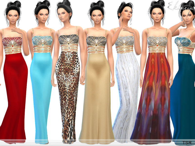 Exotic Evening Gowns
