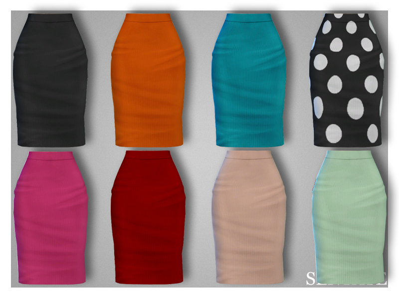 412f142612 Sentate's Verity Polo Neck & Pencil Skirt (Set)
