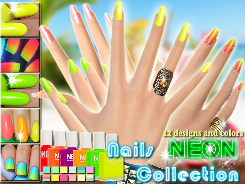 Pinkzombiecupcakes\' Neon Nails Summer Collection