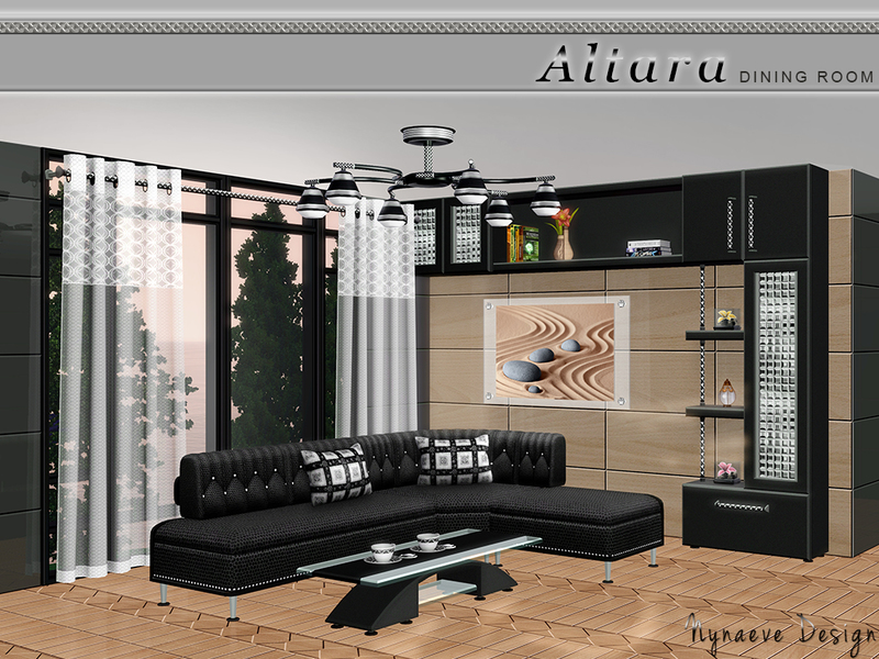 Nynaevedesign 39 s altara living room for Living room ideas sims 3