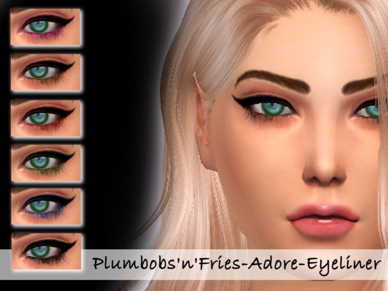 Plumbobs Fries Adore Eyeliner