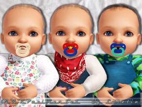 Sims 3 — NUK Pacifier1 - Baby by Lutetia — A cute NUK pacifier to calm down your Sim's Baby ~ Works for male and female
