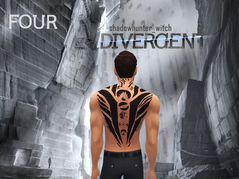 shadowhunter_witch's Divergent Tobias Eaton/Four Tattoo  shadowhunter_wi...
