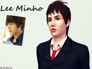 Sims 3 — Lee Minho by Diablo_SL — Lee Minho-A famous Korean Actor and Singer who is mostly know from his leading roles in