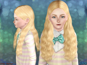 Sims 3 — Marion Hairstyle - Child by Cazy — Female hairstyle for Child. LODs, Thumbnail included.