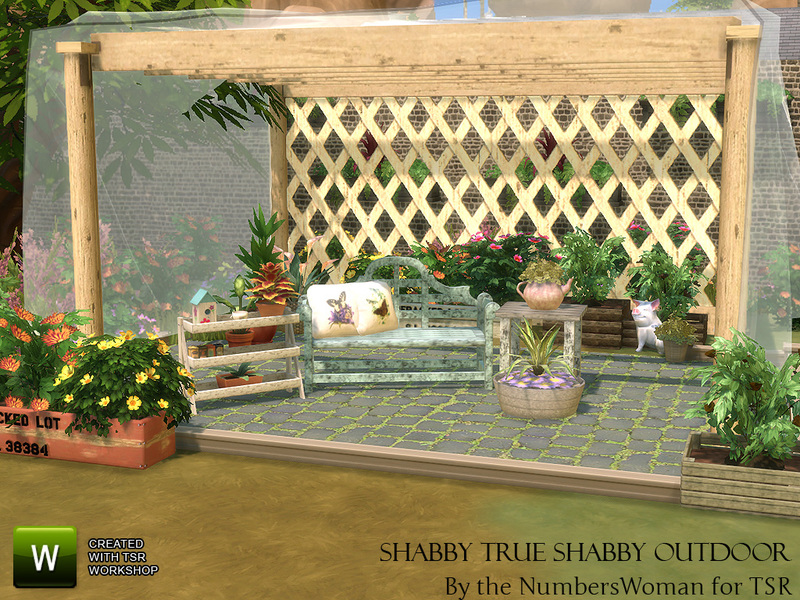 TheNumbersWoman's Shabby Chic Living True Shabby Outdoor on Cc Outdoor Living id=62197