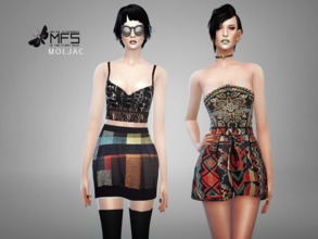 Sims 4 — MFS Moljac Collection by MissFortune — A collection made of eclectic pieces of clothing, inspired by my personal