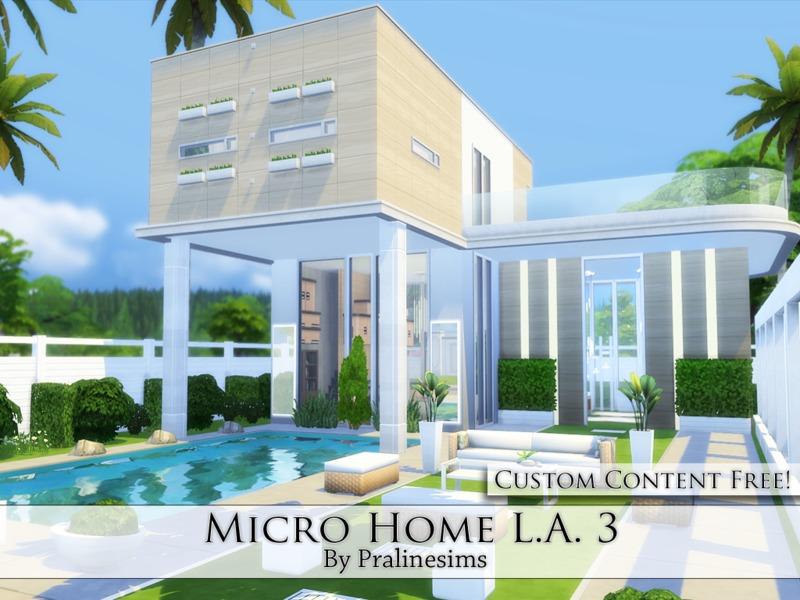 Pralinesims' Micro Home L.A. 3