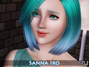 Sims 3 — Sanna Iro by Nisuki — Sanna Iro || Sanna spent most of her time during her childhood with friends, playing