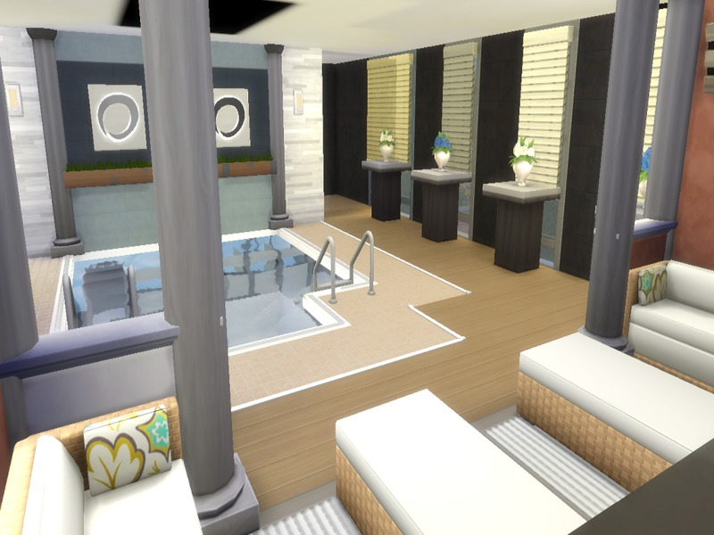 Sims  Day Spa