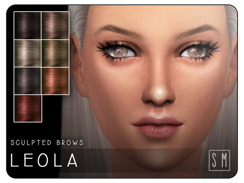 Screaming Mustards Leola Sculpted Brows