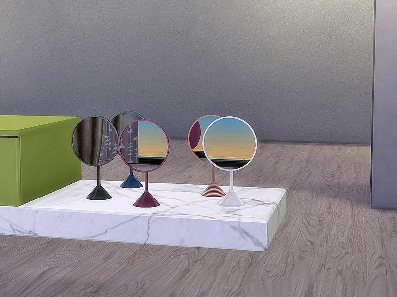 Ung999 S Bathroom Aloe Mirror Table Decor