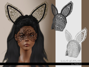 Sims 3 — LeahLilith Sugar Headband by Leah_Lillith — Sugar Headband 2 recolorable areas avilable for males and females