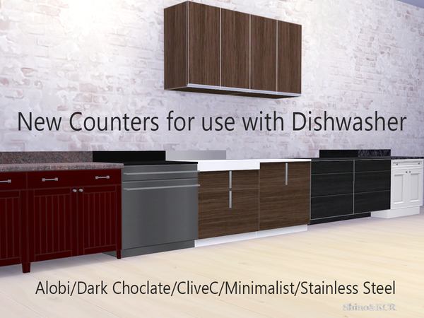 Title Or Wood Kitchen Counters